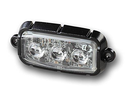 Preisvergleich Produktbild 911Signal Firefly Gelb LED Frontblitzer Orange Heckblitzer ECE R10 Zulassung Warnleuchte 12V / 24V