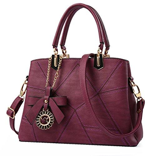 Borse Moda Yy.f Donna Borse Nuove Borse Mobile Messenger Estrinseca La Moda Intrinseca E Pratico Multicolore Red