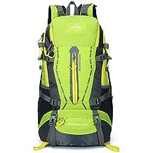 45L maletas de viaje - mochila de acampar impermeable de Escalada Montañismo Viajar Ciclismo mochila, iParaAiluRy