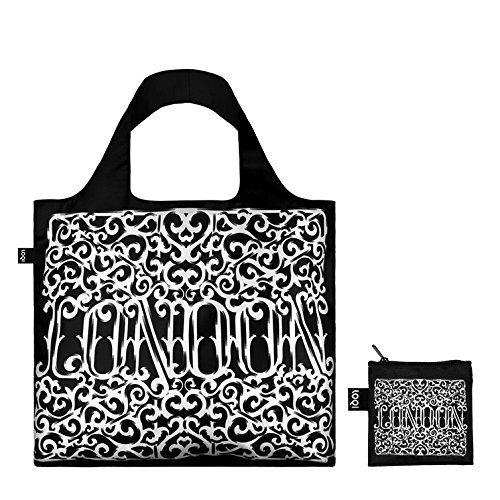 TYPE Go Go Go Bag © Sagmeister & Walsh: Gewicht 55 g, Größe 50 x 42 cm, Zip-Etui 11 x 11.5 cm, handle 27 cm, water resistant, made of polyester, OEKO-TEX certified, can carry up to 20 kg London