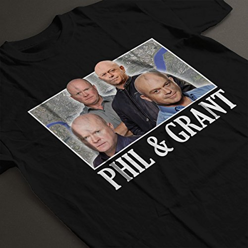 The Mitchell Brothers Eastenders Montage Men's T-Shirt Black