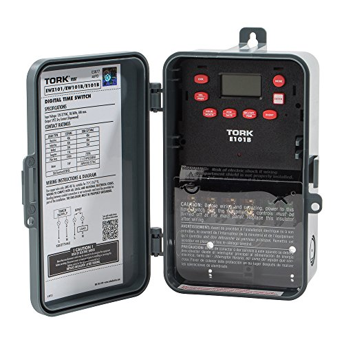 Mehrzweck-Control 24Stunde Zeit Schalter, 120–277VAC Eingang Versorgung, 1Kanal, SPST Ausgang Dry Kontakt