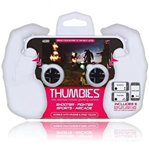 Puits-objectif Thumbies Manette de Jeu de manettes bouton tactile pour Apple iPhone 4 g/3GS/Touch