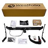 Abnehmbare Westfalia Anhängerkupplung für Focus C-Max (BJ 10/2003-11/2010) im Set mit 13-poligem fahrzeugspezifischen Westfalia Elektrosatz
