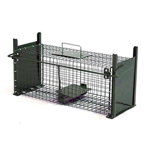 Piège Cage cas 50 cm Vivants Piège Piège à rat Double Entrées cas des animaux