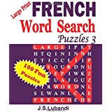 Large Print FRENCH Word Search Puzzles 3