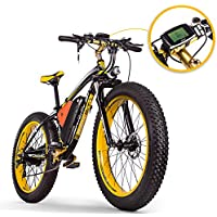 RICH BIT RT-022 Fat E-Bike 1000W 48V 17Ah Vélos électriques LCD Smart E-Bike