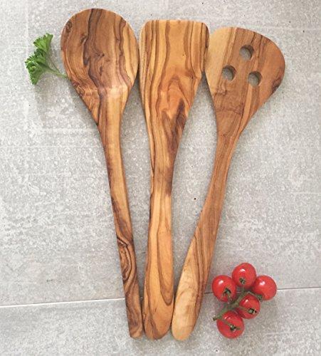 utensili-da-cucina-pezzi-in-legno-di-ulivo-spatola-cucchiaio-flipper-artigianale