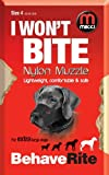 Mikki Dog Friendly Training Muzzle - Easy Fit Size 4