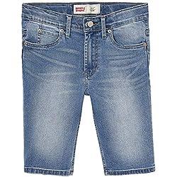 Levi's Kids NN25077 46 Bermudas Short Bleu (Indigo), 5 ans (Taille fabricant:5Y) Garçon