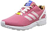 adidas ZX Flux Weave, Damen Sneakers, Pink (Running White Ftw/Vivid Berry S14 / Satellite), 36 2/3