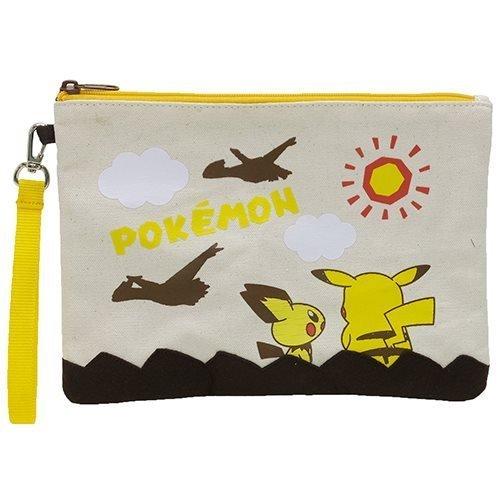 K Company Pokemon poche Gros Sachet maquillage Plat Pikachu,Pichu,Latias Et Latios