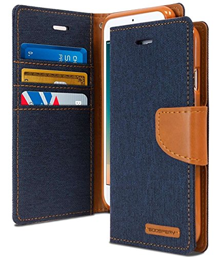 Cool & Creative Wallet Style Flip Cover For SAMSUNG GALAXY J2 (2015) (Blue)