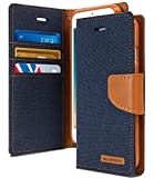 Cool & Creative Wallet Style Flip Cover For SAMSUNG GALAXY ON 5 PRO (Blue)