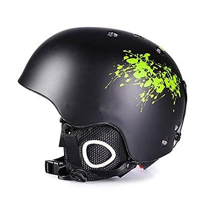 GANZTON Ski and Snowboard Helmet Cycle Snow Sport Helmet for Adult Men and Women by GANZTON
