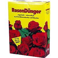 Rosendünger 2,5 kg Faltschachtel Rosen Dünger NPK-Dünger GPI