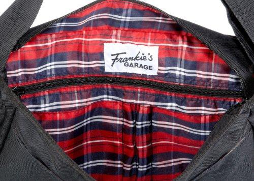 Frankie's Garage Post Bag Cab T11081070-010 Unisex - Erwachsene Schultertaschen, 37x25x13 cm (B x H x T) Schwarz/Black