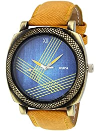 Oura Analouge Multycolor Dial Round Boys & Men,s Watch