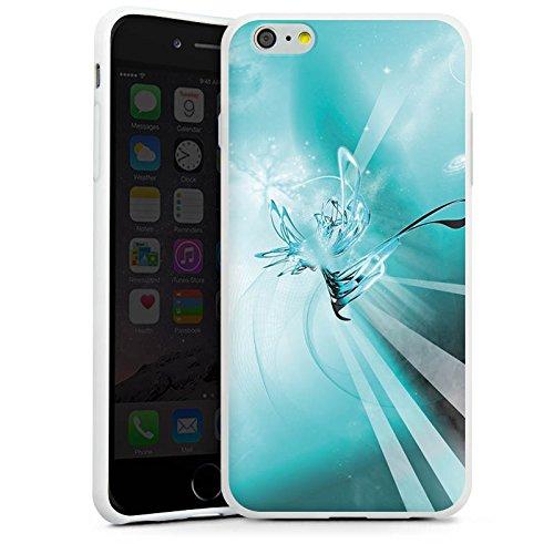 Apple iPhone X Silikon Hülle Case Schutzhülle Space Universum Abstrakt Silikon Case weiß