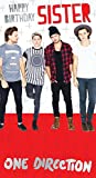 One Direction Sister Birthday Greeting Card