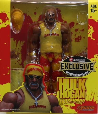 Wrestling Yellow & Red Action Figure Hulk Hogan Hollywood WWE Elite