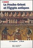 Le Proche-Orient et l'Egypte antiques