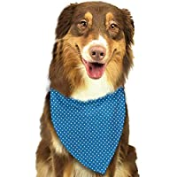 BetterShopDay Dog Bandana Police Police Cartoon Car Cab Like Design with Furious Angry Eyes and Red Alarm Print Scarf for Small and Medium Dogs and Cats
