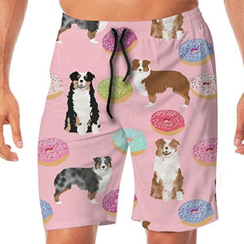 5090375caf75e Australian Shepherds Pink Dog Cute Donuts Sweets Pink Aussie Dog Cute Dog  Patterns Cute Surfing Pocket