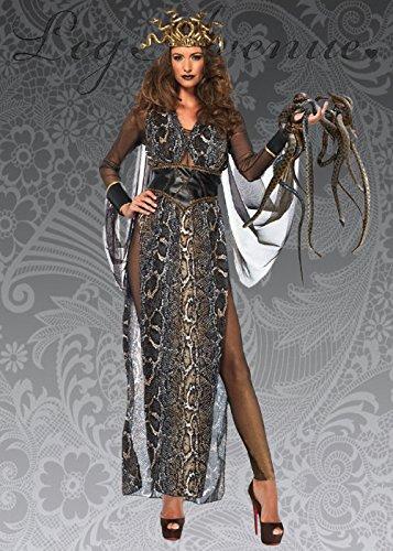 Womens Deluxe Medusa Göttin Kostüm S (UK - Medusa Göttin Kostüm