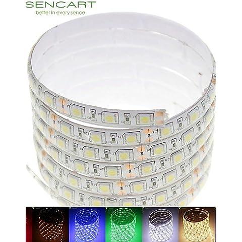 TJDlight 5M 75W 300x5050 LED RGB/bianco/verde/blu/giallo/rosso/bianco freddo/caldo