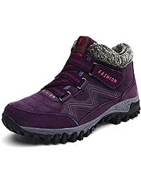 Zapatillas Senderismo Mujer Outdoor Trekking Botas de Montaña