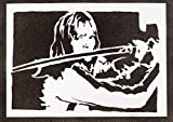 Poster Kill Bill Beatrix Kiddo Handmade Graffiti Street Art - Artwork