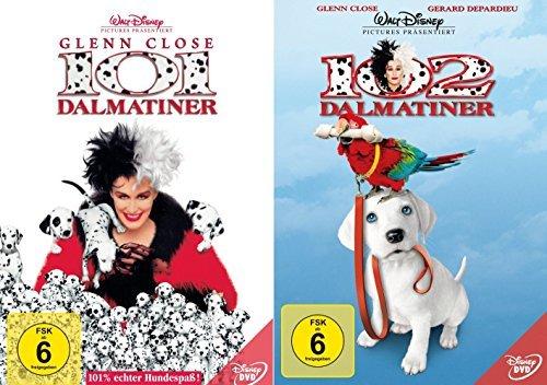101 Dalmatiner + 102 Dalmatiner (Walt Disney) [2-DVD]