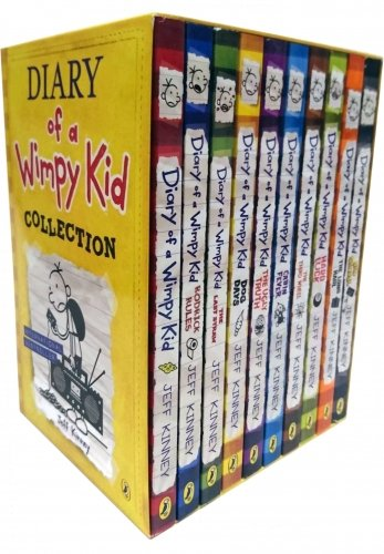 Price comparison product image Diary of a Wimpy Kid Box Set Collection (10 Books) (Diary of a Wimpy Kid)