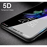 Elica - Samsung Galaxy A6 Plus (2018) - 5D Tempered Glass | Premium Full Front Body Cover | Edge To Edge Screen Guard Protector - Black