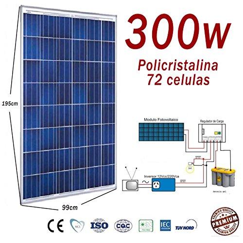 Hochleistungssolarzelle, 300W Photovoltaik-Zelle, Polykristallin