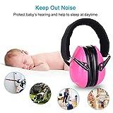 Auricular anti ruido para bebé niño, ajustable cascos oreillères de protección acústica–suave y confortable–para protect bebés y niños los oídos