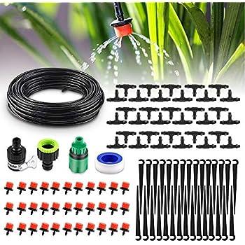 7mm Micro Drip Garten Bewässerungssystem 25m Bewässerungsschlauch Schlauch 4