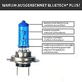 2x BLUETECH® PLUS H7 55W 9500K Xenon Effekt mit...