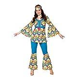 Disfraz hippy de mujer