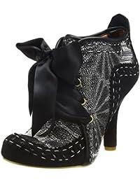 Traverses Chaussures Abigaïl Velcro Feuilles De Finition, Bleu, Taille 39
