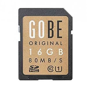 Gobe Original 16GB SDHC 80MB/s UHS-1 Scheda di memoria