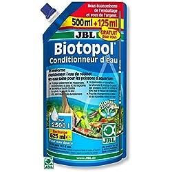JBL Biotopol para el tratamiento del agua del acuario, 500 ml + 125 ml