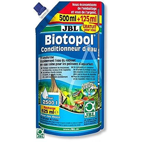 JBL Biotopol Recharge Traitement de L'Eau pour Aquariophilie 500 + 125 (Neutralizza Metalli Pesanti)