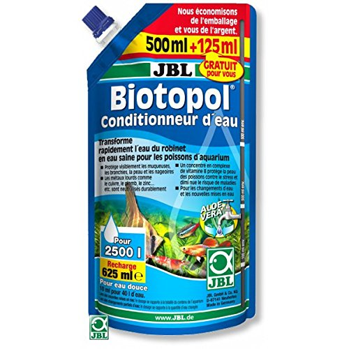 JBL Biotopol Nachfüll-Wasseraufbereitungsmittel für Aquaristik, 500+ 125 ml