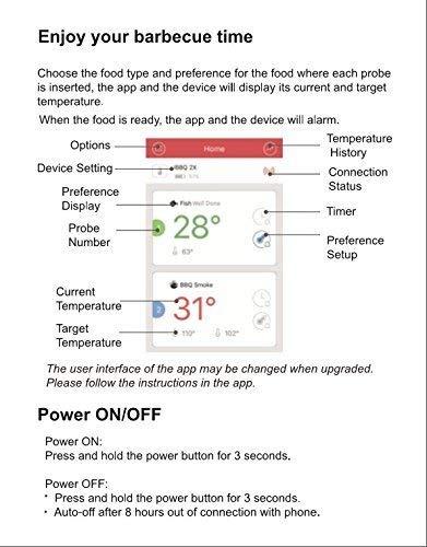 Zoom IMG-3 inkbird bluetooth termometro digitale barbecue