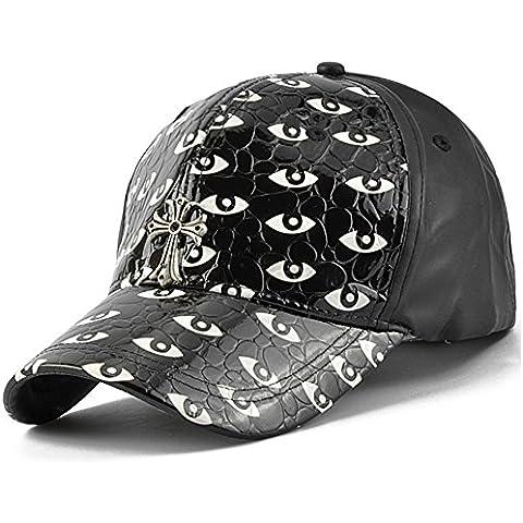 PUSombreros de cuero/Gorra de béisbol/Tapa de otoño/Sombreros de invierno de recreación/Sombreros de los amantes del