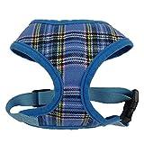 Tery Outdoor Sport Plaid Weste Comfort Soft tragen atmungsaktiv Biber Stoff Verstellbar Haustier Weste Hund Größe L