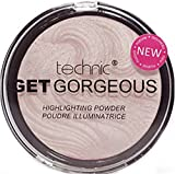 TECHNIC GET GORGEOUS HIGHLIGHTER Shimmer Compact Highlighting Shimmering Powder