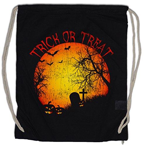 eutel Süßes sonst gibt's Saures Friedhof Grab Graveyard Halloween Samhain USA Creature Splatter Gore (Ein Grab, Halloween)
